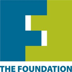The Community Foundation - blue and green logo